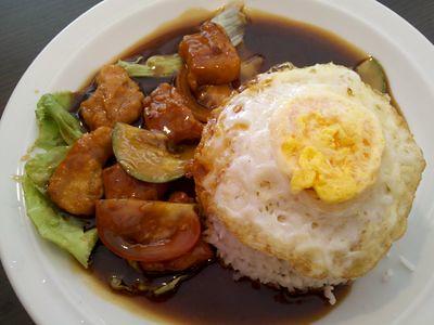 Pork Ribs with rice