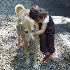 Hugging Charlie