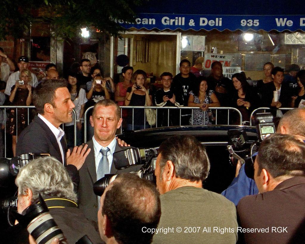 Director Ben Affleck & writer Aaron Stockard - Gone Baby Gone 05