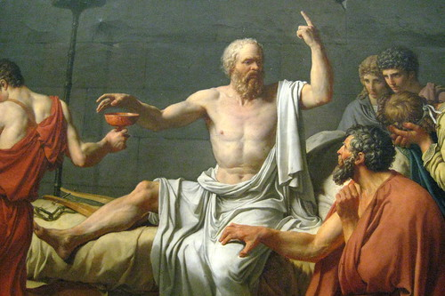 the life beliefs and death of socrates in his literary works Socrates biography where various paintings and literary works reflected his views as described in symposium, alcibiades stated how socrates saved his life in the battle of potidaea his valor was also recounted by athenian general.