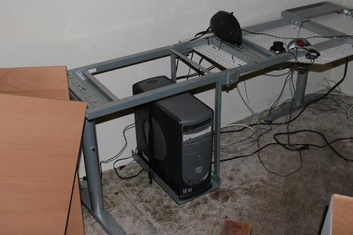 Flickriver Photoset Ikea Galant Series Desk Modified