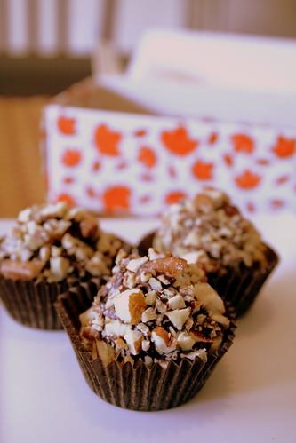 pumpkin truffles, pecan balls 004