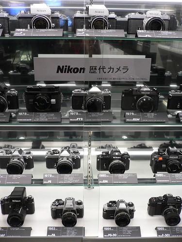 ニコン歴代カメラ
