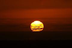 Big orange ball of fire