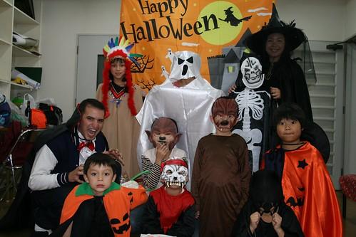 Foto Halloween de familia