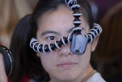 Gina as the Gorillaborg (Glockoma) Tags: weird cool scary borg cyborg adorkable gorillapod