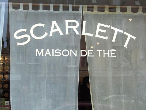 Scarlett, maison de thé