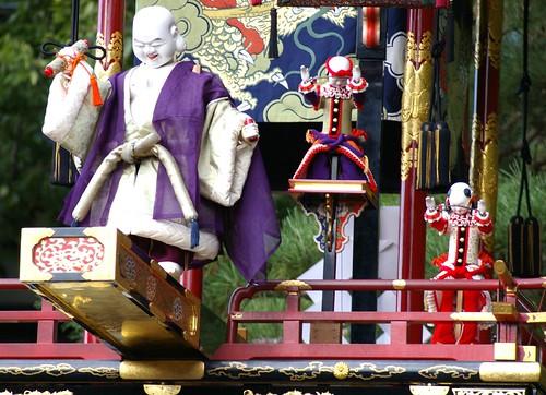 Karakuri Puppet Show, Hachiman Matsuri, Takayama (2) by Vintage Lulu.