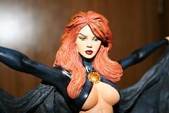 gqstatue02 (Foenix) Tags: statue inferno clone marvelcomics madelynepryor goblinqueen jeangrey