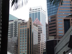 Raffles Place, Republic Plaza on right