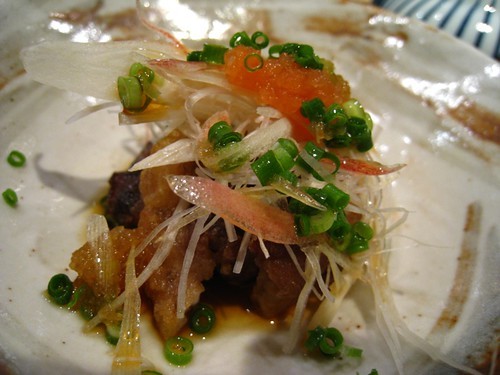 Deep-Fried Toro Fat in Ponzu Dressing.JPG