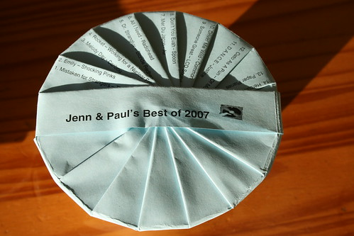 Jenn & Paul's Best of 2007 CD