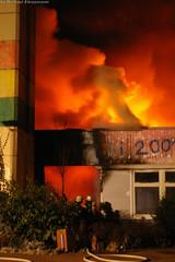 Großbrand Niemöller-Schule 24.12.07