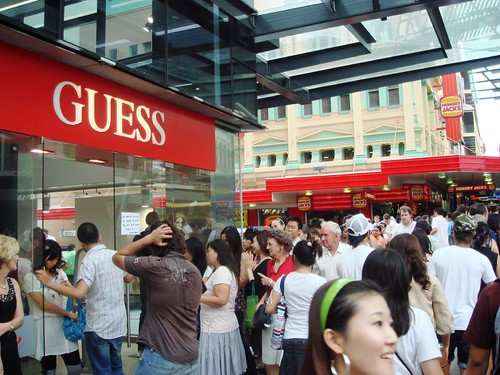Guess on Queen St