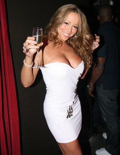 Mariah Carrey New Year party