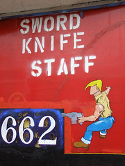 Sword Knife Staff