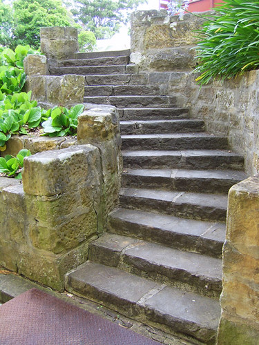stone steps at Frensham