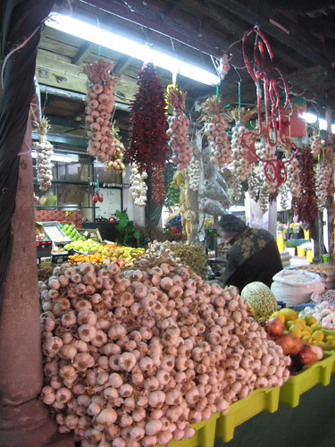 Garlic at Porto Market