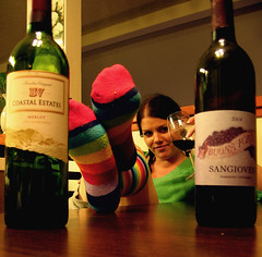 If I don't tell you later, I had a really nice time tonight (*Kristene) Tags: friends color socks dinner relax fun thankyou wine drink weekend much 365 dinnerwithfriends soles dels prettywoman moviequotes xoxox kristene explored homemadewine gtwl