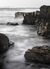 Jurrasic Rocks (lowbattery) Tags: sea white mist beach water rock downs coast milk rocks south tide wave splash soe southdowns kimmeridge jurrasic flickrsbest