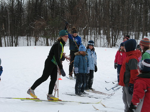 X-C ski lessons with Sue Holloway
