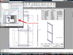 AutoCAD 2009 Enhanced Preview
