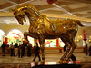 A sparkly horse at Bellagio