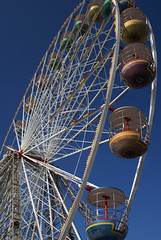 Blackpool big wheel (SigmaOmegaSigma) Tags: blue sky wheel fun pier big central fair ferris lancashire blackpool