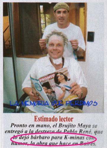 brujito maya en la peluquería 2008