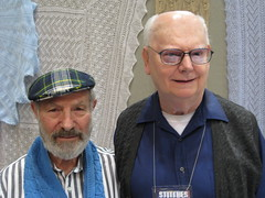 Lew and Gene from Lacy Knitters Guild