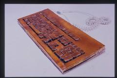 Shellac Typeform Detail (lackey.evan) Tags: evan art keyboard shellac lackey typeform evanlackey