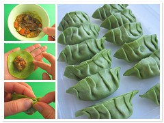 Curry gyoza tutorial