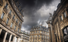 Stormy Weather over Paris HDR (David Giral | davidgiralphoto.com) Tags: sky urban david paris france architecture nikon downtown cityscape cloudy sigma 1020mm hdr oly giral 3xp sigma1020 nikond200 tthdr davidgiral