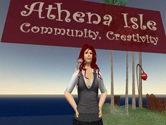Cybergrrl Oh, owner of Athena Isle