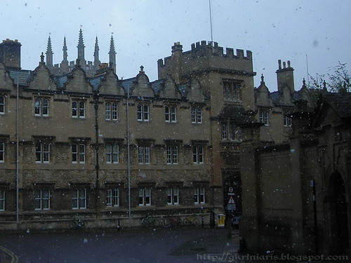 Snow at Oxford