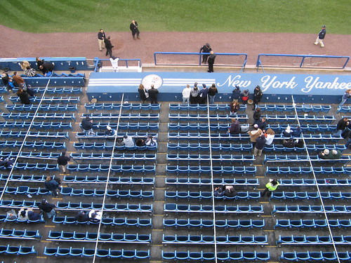 the Yankee Stadium seating