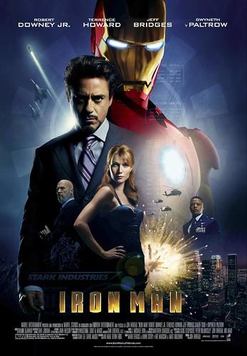 Póster español y trailers de 'Iron Man'