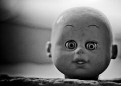 Evil doll by Helge Carlsen