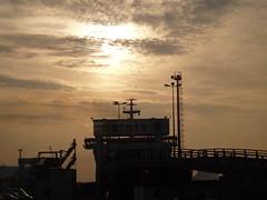 Calais docks