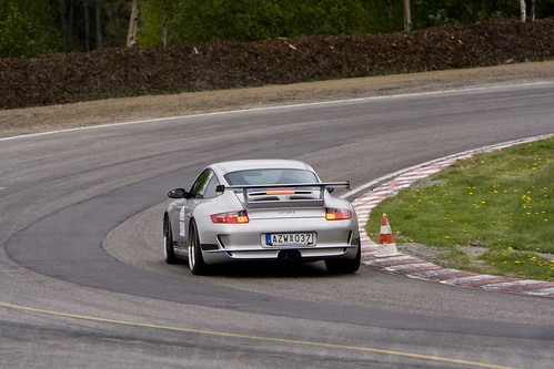 GT3RS Breaking at Last Corner