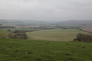 Meon Valley from Hyden Hill