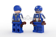 Original Super Soldier - Available for Presale (Phoenix Custom Bricks) Tags: lego minifigure minifig custom superhero superheroes hero