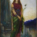 MOREAU Gustave - Hélène sur les Murs de Troie (drawings, dessin, disegno-Louvre RF32135) - 0 thumbnail