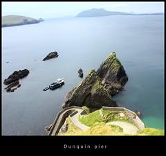Dunquin Pier (Mick h 51) Tags: ocean ireland canon landscape pier dingle kerry atlantic explore munster dunquin blasket dinglepeninsula sleahead clogherhead thekingdom blasketislands dunmorehead explored 450d mickh51