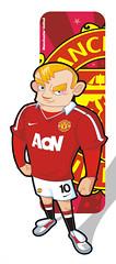 Rooney10 (Wilson Becerra) Tags: inglaterra sport manchester rojo force soccer united deporte illustrator futbol vector rooney ilustracion fuerza jugador vectores