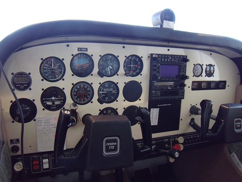 Replacement Instrument Panel Cover - CESSNA 172 FORUM