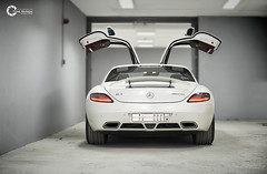 Mercedes-Benz SLS AMG 2011 (Tareq Abuhajjaj | Photography & Design) Tags: soon with bugatti veyron mercedesbenz sls amg 2011 high ksa moon nice nikon photo d700 car black arabia abuhajjaj 2010 fast gear flickr design photography power red rims riyadh saudi speed sport top tareqmoon tareqdesigncom tareqdesign tareq white       bw foilacar manual race night wheels v8    sky lights light fiber ferrari 070 cars carbon