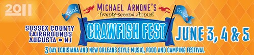 Crawfish Fest, Sussex  header