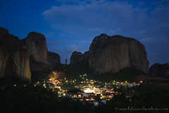 Kastraki by night (fabionodariphoto.com) Tags: greece grecia meteora kastraki meteore