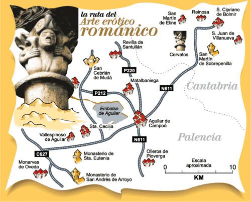Iglesias romanicas en España